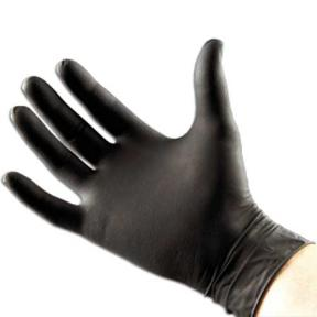 Black Nitrile Gloves XLarge