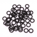 O Rings Rubber Black